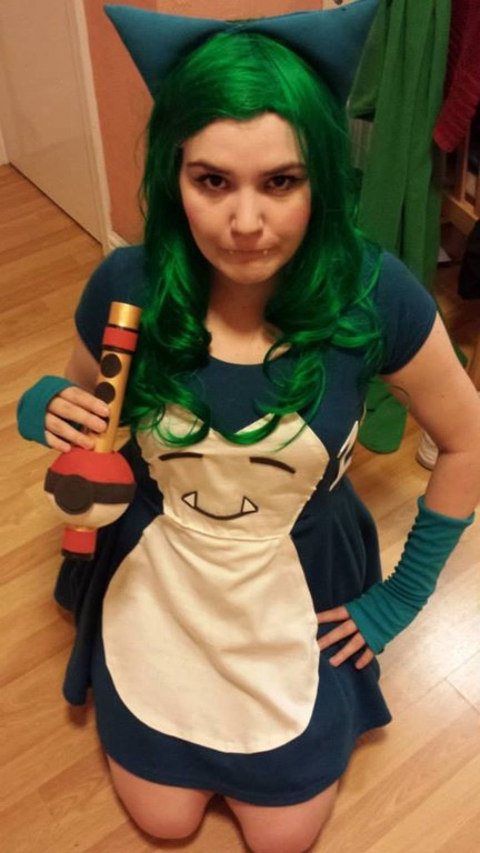 Cosplay Island View Costume Diana Prince Snorlax