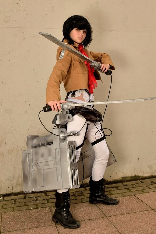 Cosplay Island | View Costume | No-Limit-Cosplay - Mikasa ...