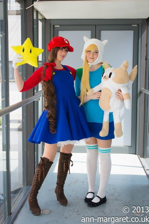 Finn And Fionna Cosplay
