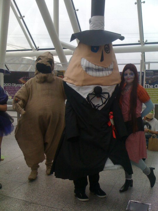 Oogie Boogie Cosplay Oogie Boogie The Mayor And