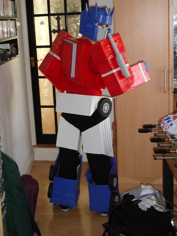 cosplay island view costume sketch mcdraw optimus prime