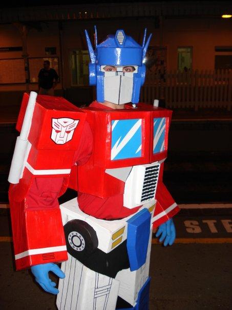 Cosplay Island | View Costume | Sketch McDraw - Optimus Prime