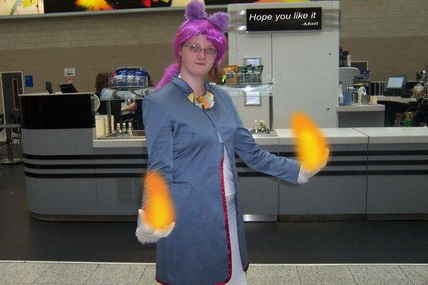 Cosplay Island View Costume Lady Aira Blaze The Cat