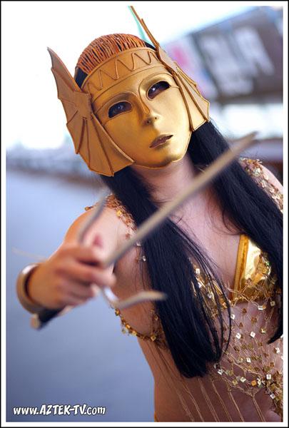 Cosplay Island View Costume Ellygirl Anck Su Namun