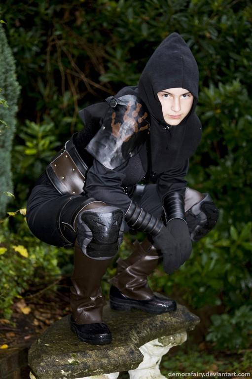 Dark brotherhood armor cosplay