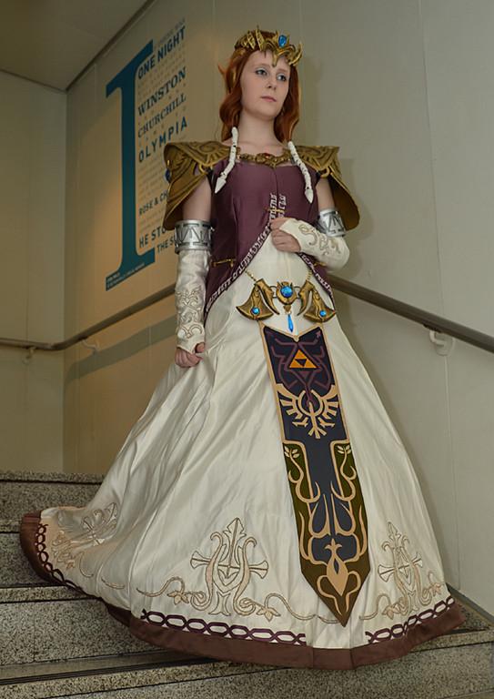 Cosplay Island View Costume Zelda Princess Zelda