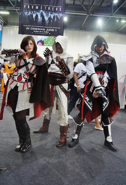 Cosplay Island View Costume Ailune Ezio Auditore