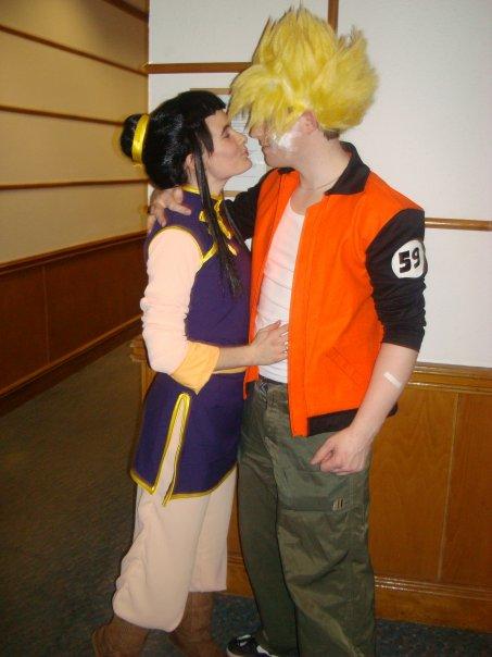 chichi Goku cosplay and