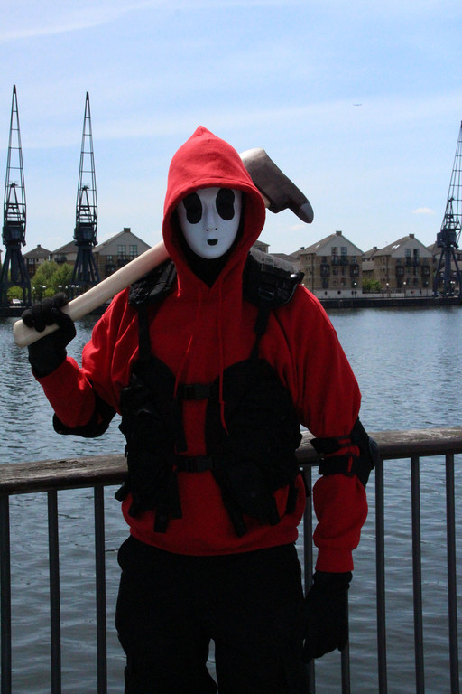 cosplay island view costume leadmill shy guy