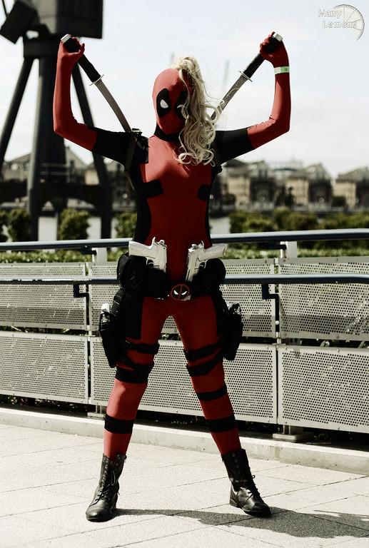 Cosplay Island View Costume Inuyoku Lady Deadpool
