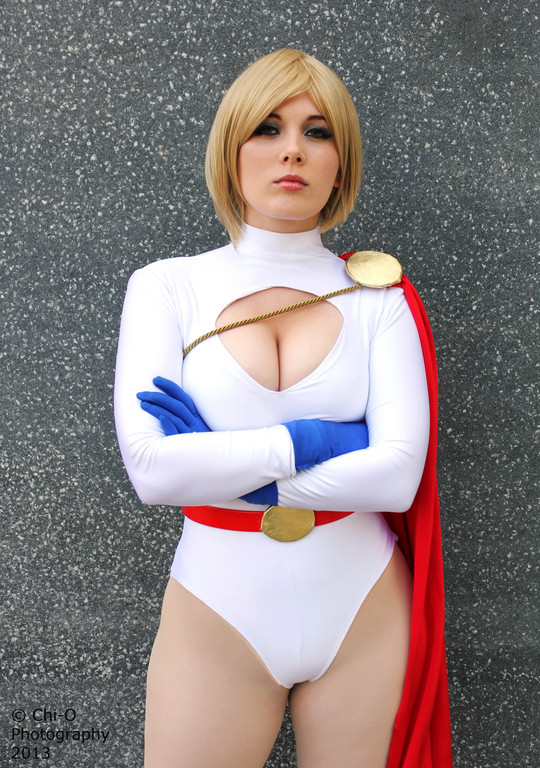 Power girl cosplay huge are not