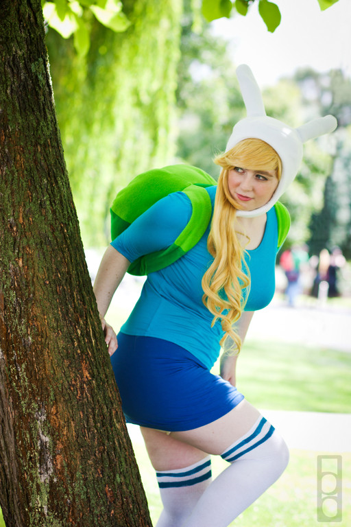 Fionna And Cake Cosplay Costume