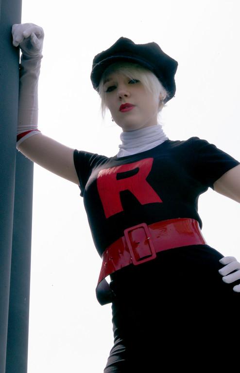 Cosplay Island View Costume Kitsu Aria Team Rocket Grunt
