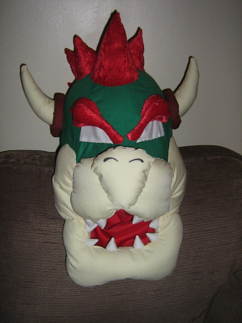how to make a bowser costume