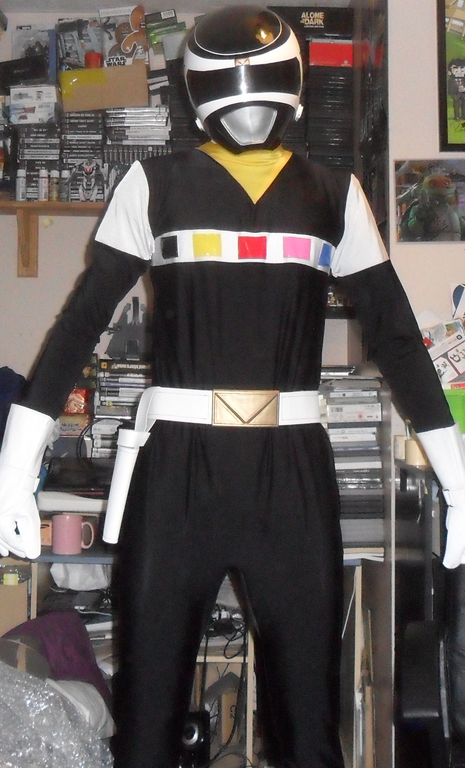 Cosplay Island View Costume Rich29 Black Space Ranger