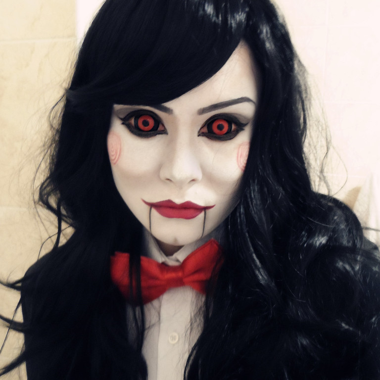 Cosplay Island | View Costume | Skyflake - Lady Jigsaw (fem. Billy The Puppet)