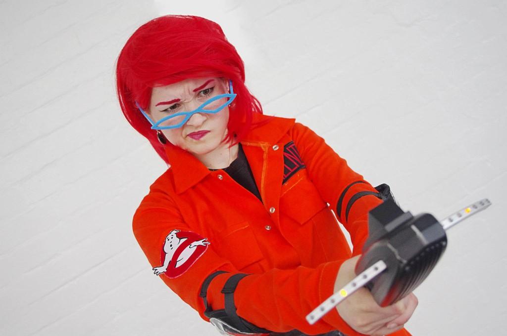 Janine Melnitz (Retro Action Figure/Real Ghostbusters cartoon) - Ghostbusters & Cosplay Island | View Costume | Chelseaj - Janine Melnitz