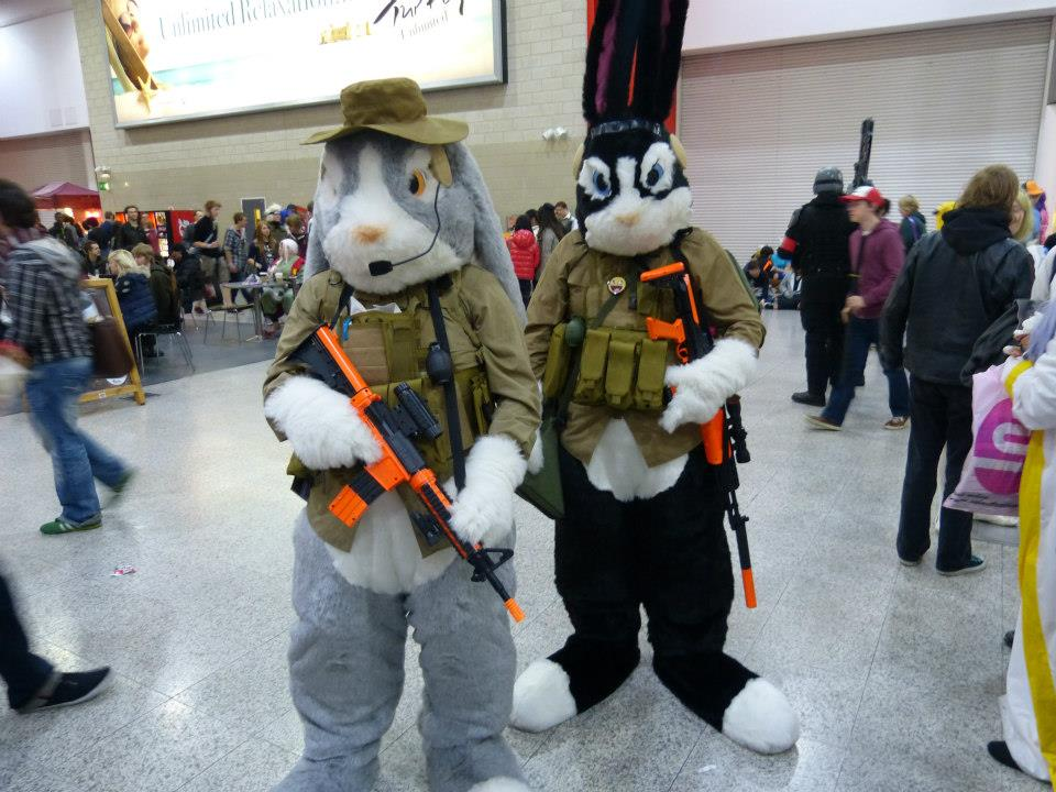 cosplay island view costume squeak botasky and packy