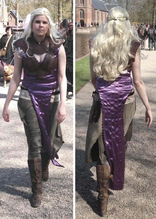 Cosplay Island View Costume Tatiana Daenerys Targaryen