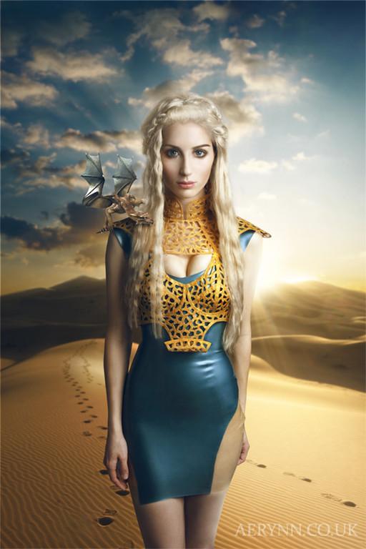 Cosplay Island View Costume Aerynn Daenerys Stormborn