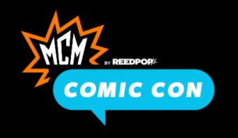 MCM Comic Con Birmingham 2021 logo