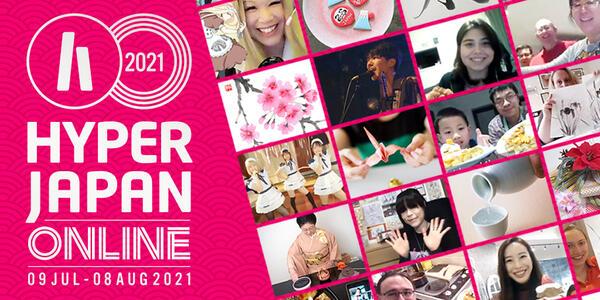 Hyper Japan Online 2021 logo